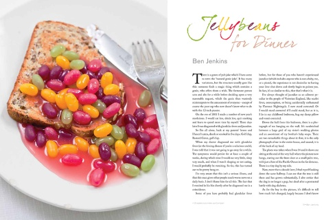 Ben Jenkins: Jellybeans for Dinner
