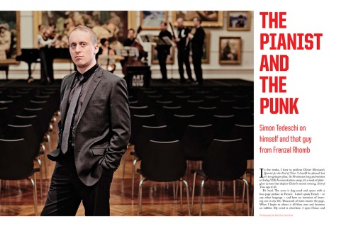 The Pianist and The Punk: Simon Tedeschi
