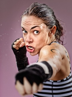 Jesse Adams Stein - My Kickboxing Face