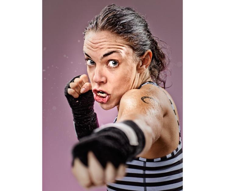 Jesse Adams Stein - Kickboxing Face